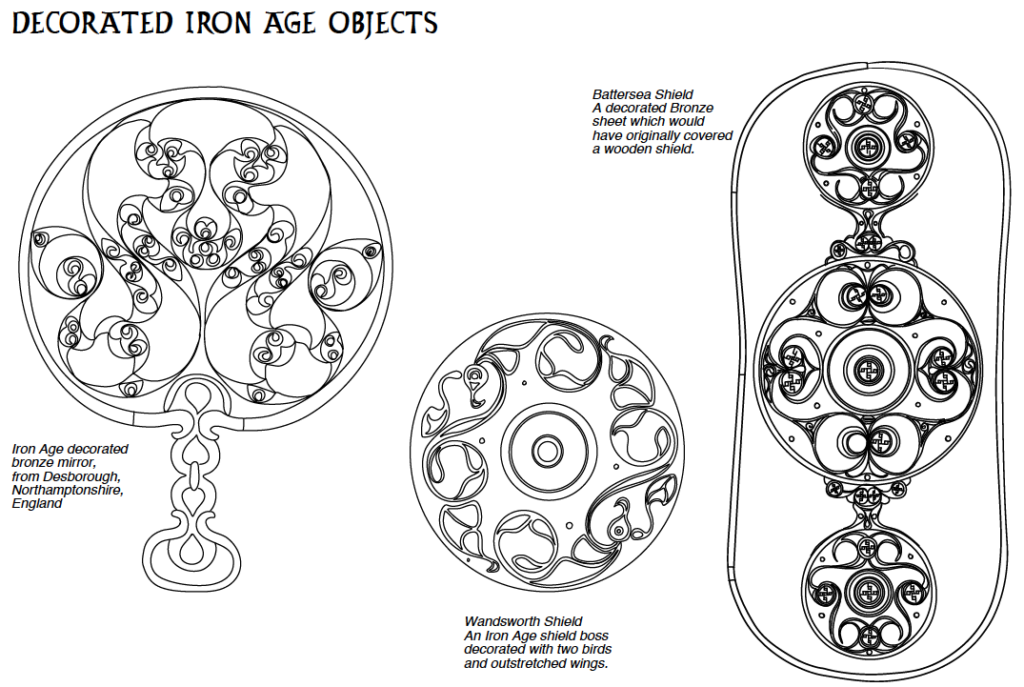 North Devon Resources - Decorated Iron Age Objects Template